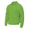 Polosweater Rom88 PSB280 met boord | Lime