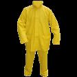 Regenpak M-wear Pu-strech 2-delig 245150 - Geel