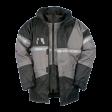 Parka Sioen Siopor Ultra 4-in-1 288A Cloverfield, grijs/zwart