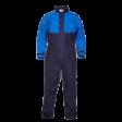 Spuit en doorwerkoverall Hydrowear Seaham Hydrosoft | Blauw/korenblauw