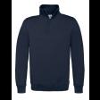 Sweater B&C WUI22 met Korte Rits | Navy blauw