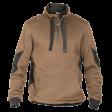 Sweater Dassy Stellar D-Fx serie khaki met grijs