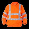 Fleece sweater Hydrowear Texel EN471 RWS | Fluor oranje