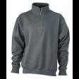 Sweater James & Nicholson JN831 - Antraciet