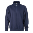 Sweater James & Nicholson JN831 - Navy blauw