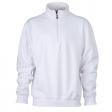 Sweater James & Nicholson JN831 - Wit