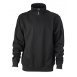 Sweater James & Nicholson JN831 - zwart