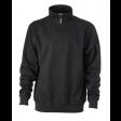 Sweater James & Nicholson JN831 - zwart