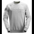 Snickers 2882 sweater crewneck - Grijs Melange