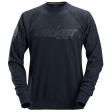 Snickers 2882 sweater crewneck - Navy blauw