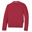 Sweater Snickers 2810 ronde hals rood