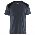 T-shirt Blaklader 3379 donker grijs met zwart