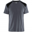 T-shirt Blaklader 3379 grijs met zwart