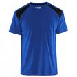T-shirt Blaklader 3379 korenblauw met zwart