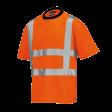 T-shirt Tricorp TT-RWS EN471 Pique Coolmax   Oranje
