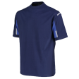 Tshirt Orcon capture Vincent bi-colour navy met korenblauw