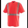 Tshirt V-hals Blaklader 3313 Hi-Viz EN2071 cl.2 fluor rood