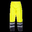 Regenbroek Hydrowear Vancouver Fluor geel met blauw