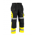 Kledingpakket Blaklader Basic 3353+ x1508 Zwart met Fluor geel