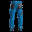 Werkbroek Dassy Spectrum D-Fx achterzijde blauw