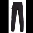 Werkbroek Hydrowear Rhodos | Zwart achteraanzicht