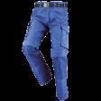 Werkbroek Orcon Roger met Cordura kniezakken korenblauw