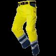 Werkbroek Tricorp TWE3001 EN20471 Fluor geel met blauw
