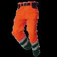 Werkbroek Tricorp TWE3001 EN20471 Fluor oranje met groen