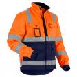 Werkjack Blaklader 4023 Hi Vis EN471 cl. 2 fluor oranje met zwart