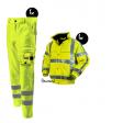 Kledingpakket Workman visibility EN471 RWS fluor geel basic