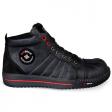 Werkschoenen Redbrick Onyx S3  zwart met rood
