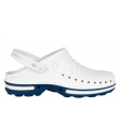 Medische klomp Wock Clog 02 Steri-tech - Wit met blauw
