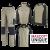 Kledingpakket Mascot Unique Khaki met zwart ( Luxury pakket)
