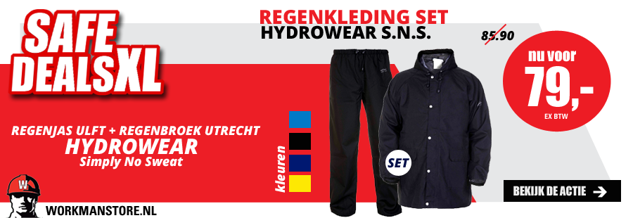Safe deal XL - Regenkleding set