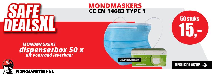 Safe deal XL - mondmaskers