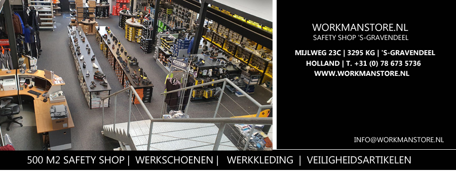 Workmanstore - Winkel - safety Shop